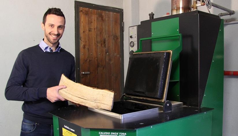 Caldaie a legna fiamma rovesciata tecnobioma caldaie di for Caldaia legna thermorossi fiamma rovesciata